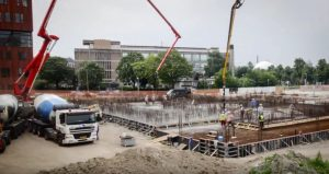 Speciaal beton voor het nieuwe UMCG Protonen Therapie Centrum Groningen